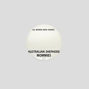 Australian Shepherd designs Mini Button