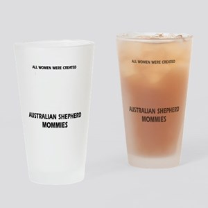 Australian Shepherd designs Drinking Glass