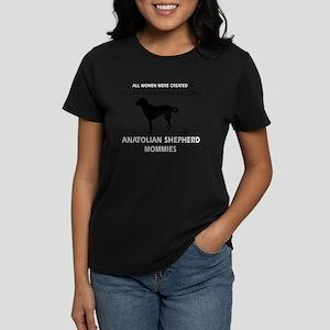 Anatolian Shepherd Dog mommy Women's Dark T-Shirt