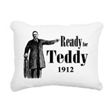 Theodore roosevelt Rectangle Canvas Pillows