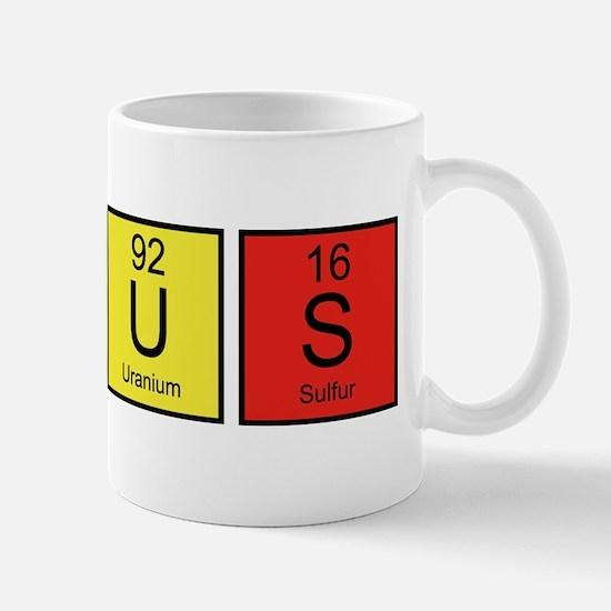 PeriodicElGenius1E Mug