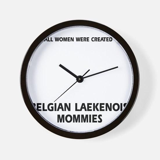 Belgian Laekenois dog gifts Wall Clock