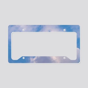 Clouds Magnetic Board License Plate Holder