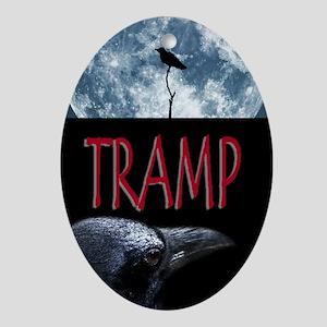Tramp Oval Ornament