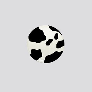 Cow Print Mini Button