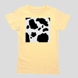 Black/White Cow Girl's Tee