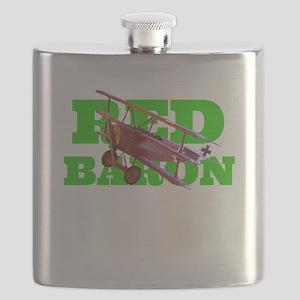Red Baron Fokker Triplane Flask
