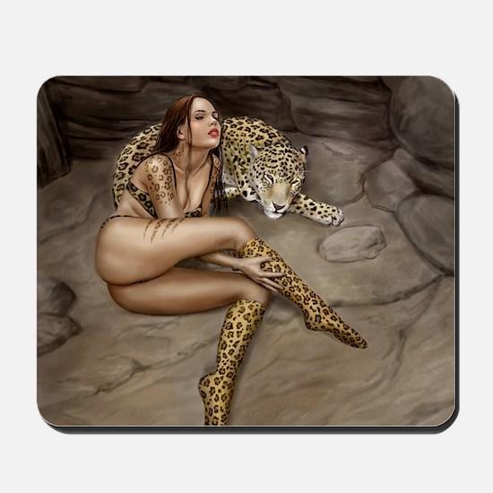 Pet Leopard Mousepad