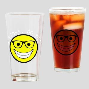 Happy Fosser Drinking Glass