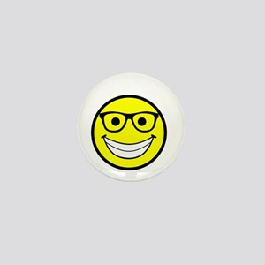 Happy Fosser Mini Button