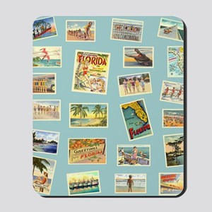 Vintage Florida Postcards Mousepad