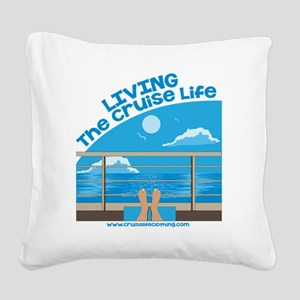 CruiseLife Square Canvas Pillow