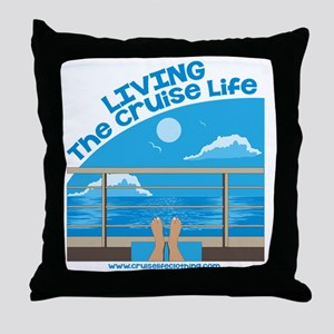 CruiseLife Throw Pillow