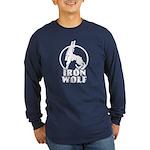 iron wolf Long Sleeve Dark T-Shirt