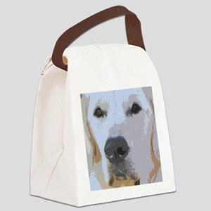 Life is Golden Canvas Lunch Bag