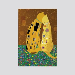 Klimts Kats Rectangle Magnet