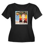 Haile Selassie I Women's Plus Size Scoop Neck Dark