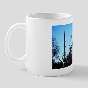 Istanbul_5x3rect_sticker_BlueMosque Mug
