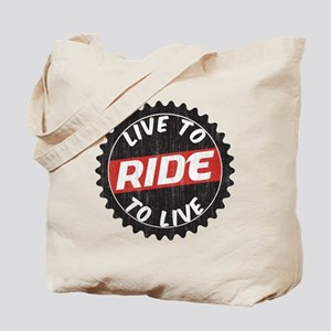 Live to Ride - Ride to Live Tote Bag
