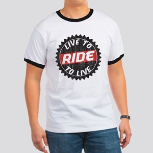 Live to Ride - Ride to Live Ringer T