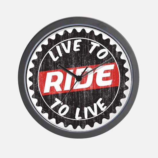 Live to Ride - Ride to Live Wall Clock