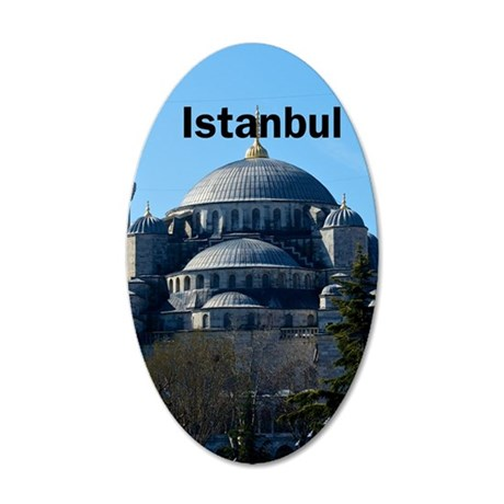 Istanbul_2.337 x 4.9_iPhone5 35x21 Oval Wall Decal
