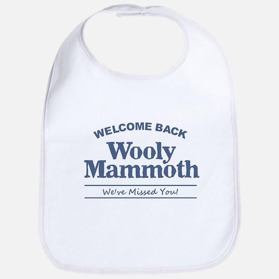 Wooly Mammoth Baby Bib