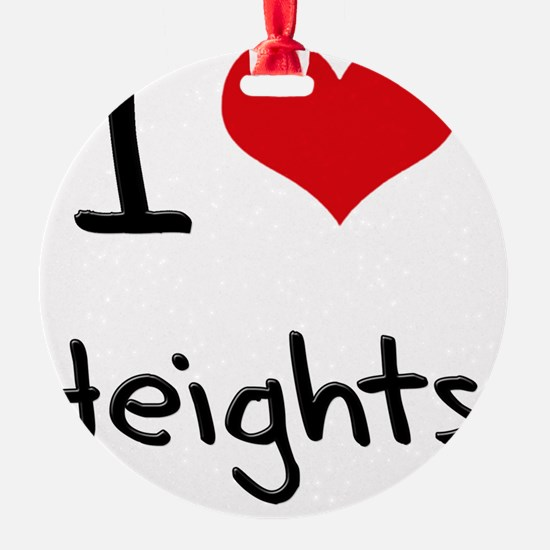 I Love Heights Ornament