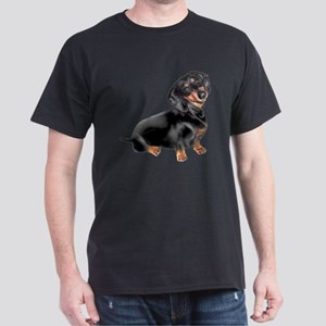 Dachshund-BT - Big2 Dark T-Shirt