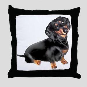 Dachshund-BT - Big2 Throw Pillow