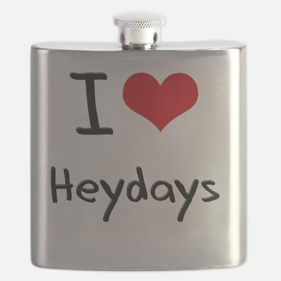 I Love Heydays Flask