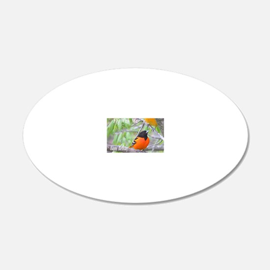Northern Oriole Wall Decal