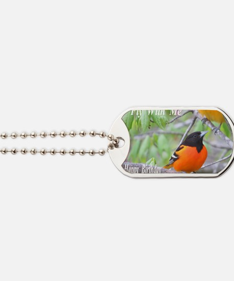 Northern Oriole Dog Tags