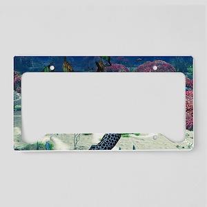 st_Rectangular Canvas Pillow License Plate Holder