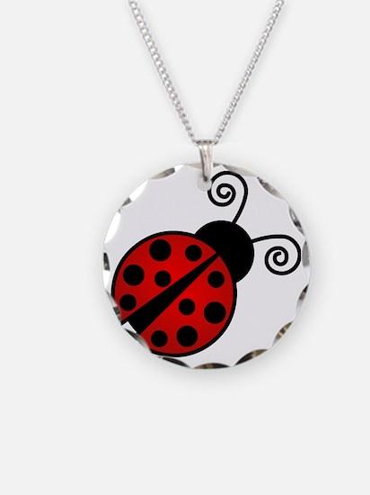 Red Ladybug 2 Necklace