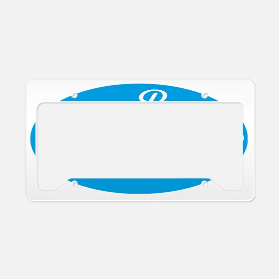 father of the bride License Plate Holder