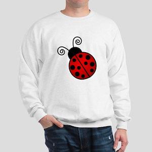 Red Ladybug Sweatshirt