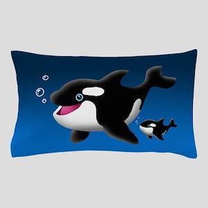 Whales Pillow Case