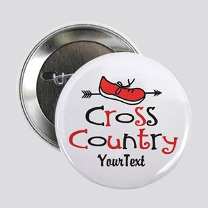 "Customize Cross Country Shoe © 2.25"" Button"