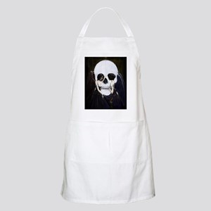 skull illusion coloured gn high res Apron