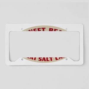 Sunset Beach Salt Lake License Plate Holder