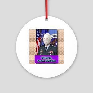 Jason DIRNSA Round Ornament