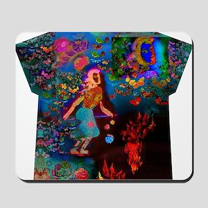 Fire Walker - All Over Print T-shirt Mousepad