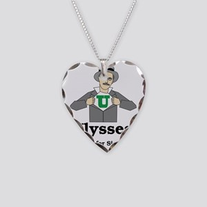 Ulysses Aint for Sissies Necklace Heart Charm