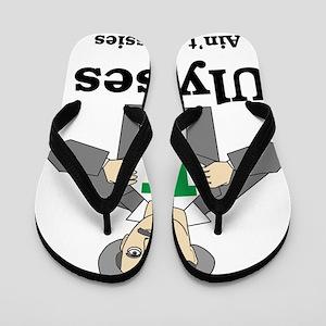 62086de8f5d83f Ulysses Aint for Sissies Flip Flops