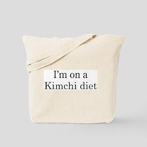 Kimchi diet Tote Bag