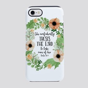 She confidently trust the lord iPhone 7 Tough Case