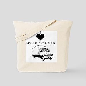 I_love_trucker Tote Bag