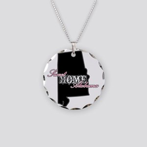 Alabama Necklace Circle Charm