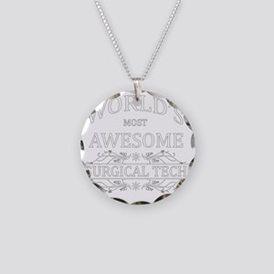 MOST AWESOME NURSE White ADV Necklace Circle Charm